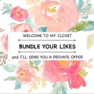 Bundle Your Likes & Save $